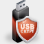 USBCrypt Password protection software for the USB and other external drives