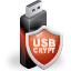 Encrypt and password-protect external drives with USBCrypt
