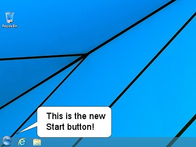 StartFinity Start button for Windows 8.