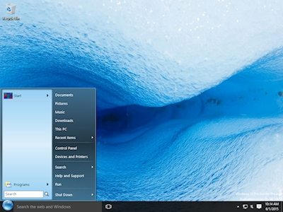 StartFinity brings the real Start Menu to Windows 10.